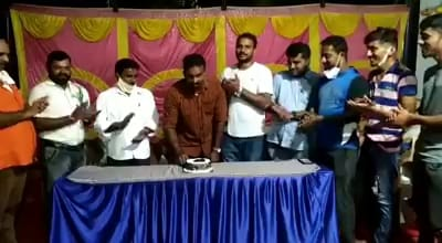 BJP-leader-hosts-a-Birthday-party-in-COVID-19-Quarantine-Center